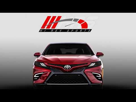 2018 - 2019 Toyota Camry SE/XSE Daytime Running Lights with LED Fog Lights