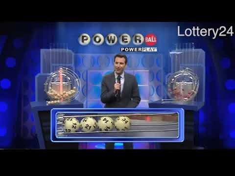 2017 11 08 Powerball Numbers and draw results