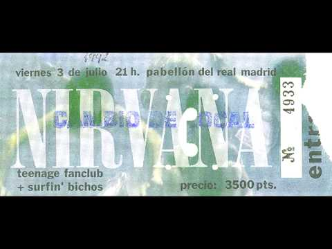Nirvana LIVE In Madrid, Spain 1992 (COMPLETE/REMASTERED)