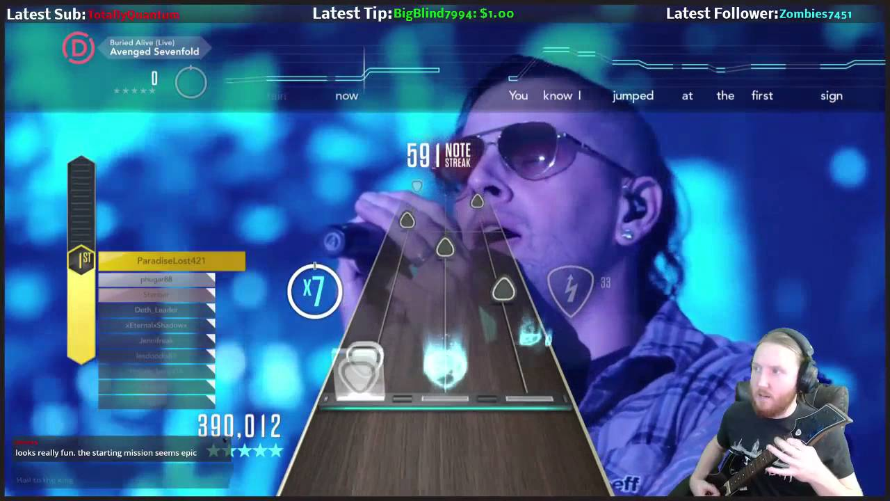 avenged sevenfold buried alive live guitar hero live expert 100 full combo youtube. Black Bedroom Furniture Sets. Home Design Ideas