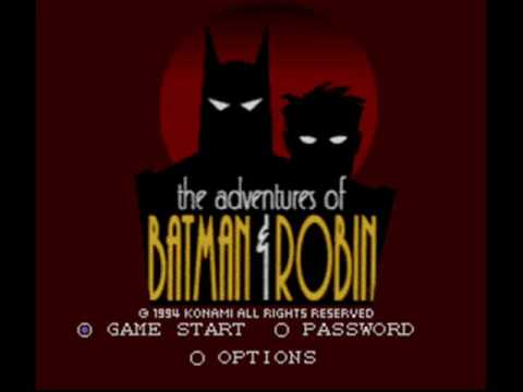 The Adventures of Batman and Robin SNES - The Gauntlet