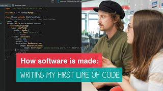HOW I WROTE MY FIRST LINE OF CODE | HOW SOFTWARE IS MADE #5