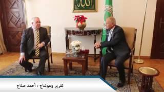 بالفيديو : ابو الغيط أمين الجامعة العربية يلتقي رئيس مجلس النواب الأيرلندي