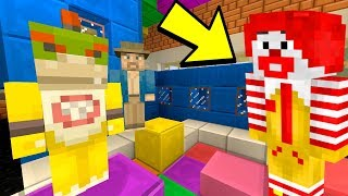 RONALD MCDONALD IS BACK [POLICE CAME] - Nintendo Fun House - (Minecraft Switch) [196]