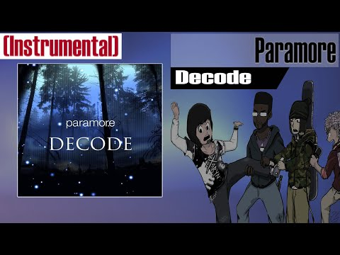 Paramore - Decode (Instrumental Cover)