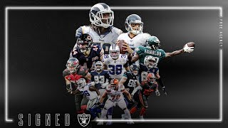 Raiders 2020 Free Agency Class | Full Highlights | Las Vegas Raiders