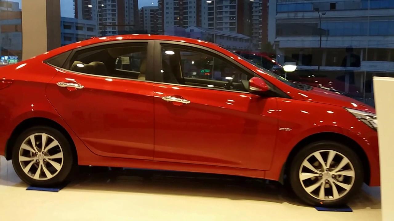 Hyundai Verna 1 6 Sx Passion Red Exterior And Interior