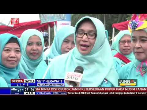 Ribuan Guru PAUD Ikuti Gerak Jalan Sehat di Silang Monas