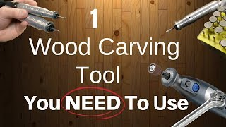 1 Wood Carving Tool You NEED To Be Using!