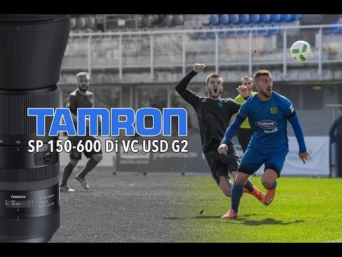 Objetivo Tamron 150-600 Di VC USD G2 - Review en partido de segunda división