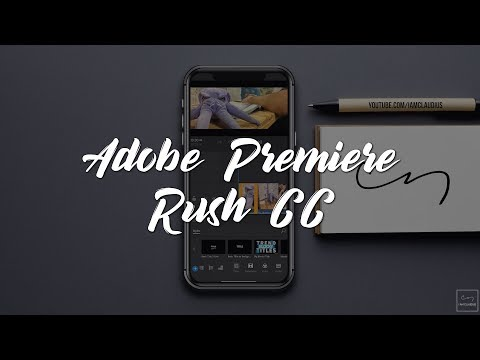 #Edit & #Create Awesome #Videos on Phone Using #Adobe #Premiere #Rush