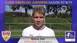 EnBW-Oberliga B-Junioren -  VfB Stuttgart II - Niklas Voll