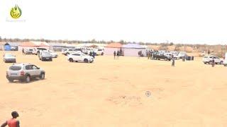 Serigne Abdou Karim MBACKE et une forte délégation dans les champs de Cheikh Ahmadou Bamba Souhibou.