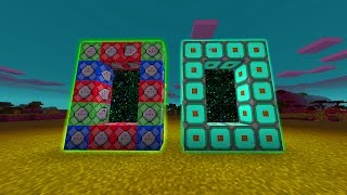 How to Make a Custom Portal in Minecraft Pocket Edition