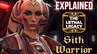 Legacy Sith Warrior Story - Explaining Cedonia's Origin and Connection to Poena