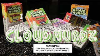 CLOUD NURDZ Premium E liquids and Nic Salt ~E-Liquid Review~