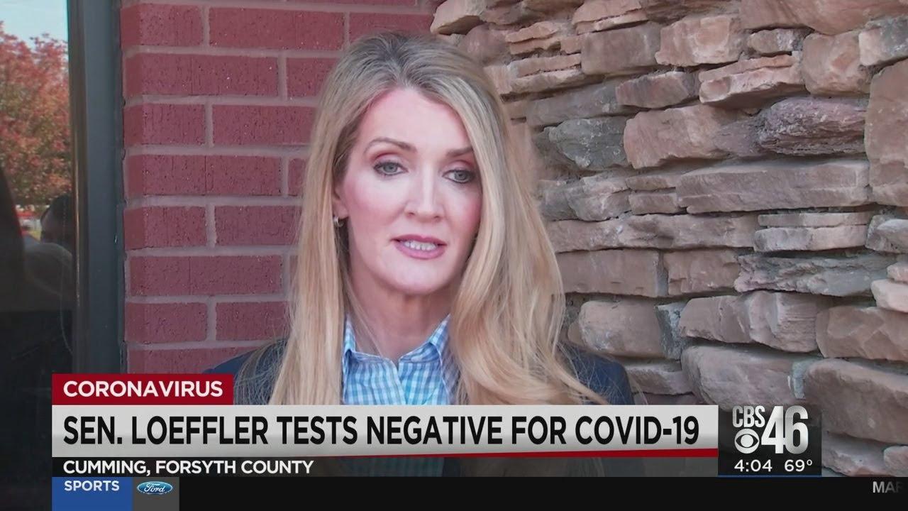 Georgia Senator Kelly Loeffler tests negative for COVID-19