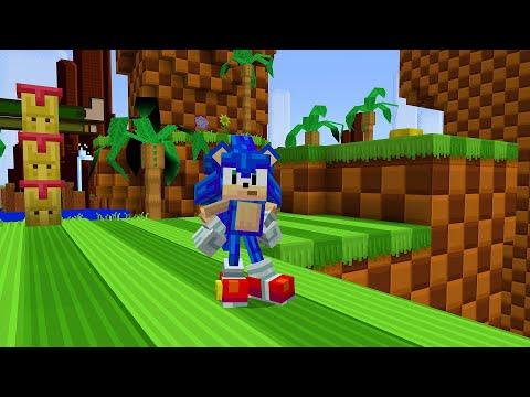 Sonic the Hedgehog finns nu i Minecraft Men inte Big the Cat!