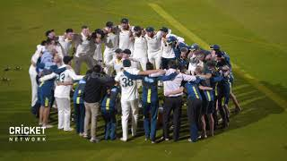 Aussies sing team song after retaining the urn