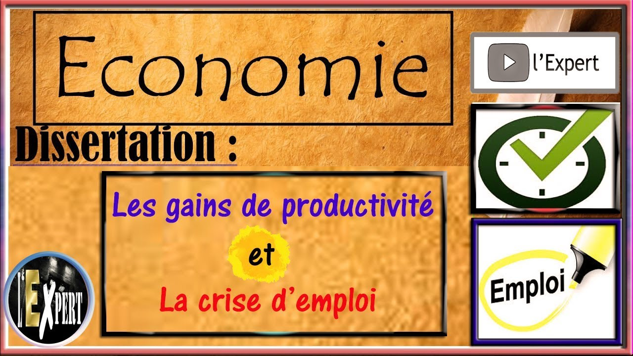 Dissertation sur la productivite