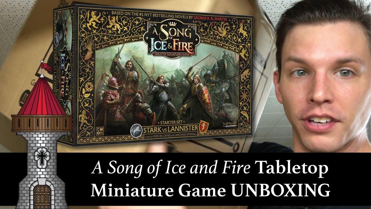 Song of Ice/&Fire Starter Set Stark vs.Lannister NEW CMON Game of Thrones Martin