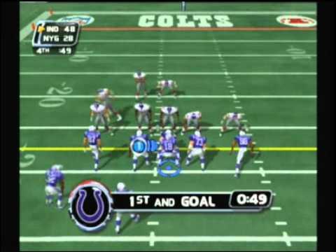 NFL Blitz 2003 - Colts vs Giants (2nd Half)