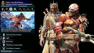 SHADOW OF WAR - UNIQUE RAVISHING OVERLORD DIFFICULTY NEMESIS IN DESERT