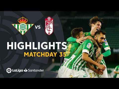 Betis Granada Goals And Highlights