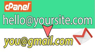 How to Setup Email forwarding in cpanel/webmail to Forward your emails to Gmail