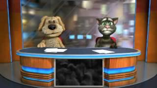 "Talking Tom & Ban News Free. Приложение из ""Play Маркет""."
