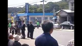 自民党✯石破幹事長奄美初来島(*^_^*)