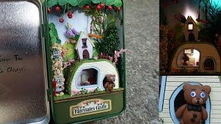 Cute Miniature Dollhouse in a Tin
