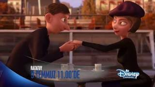 Ratatuy 9 Temmuz saat 11:00'de Disney Channel'da!