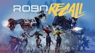 Robo Recall - Oculus Touch Gameplay