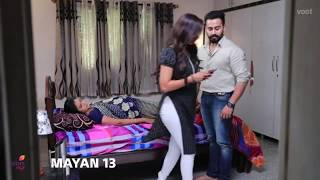Serial actress neha gowda hot leggings and panty impression visible side