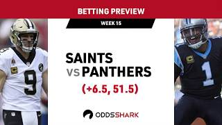 NFL Week 15: New Orleans Saints at Carolina Panthers Betting Preview and Pick