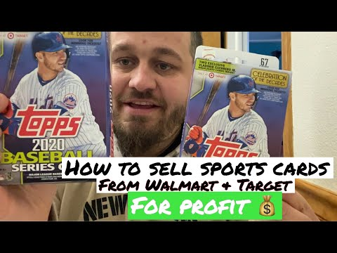 How To Sell Sports Cards From Walmart & Target For A Profit!
