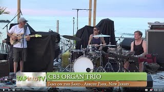 cB3 Organ Trio wraps up a summer of Jams on the Sand in Asbury Park, NJ