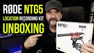 RODE NTG5 Location Recording Kit Unboxing