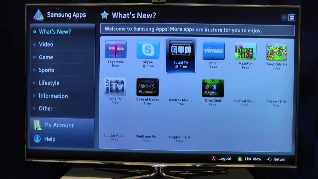 Samsung Forum - představení Smart TV
