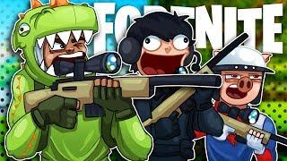 Longest, Closest, Quickest,  BESTEST Sniper Shots! - Fortnite Sniper Shootout Battle Royale!