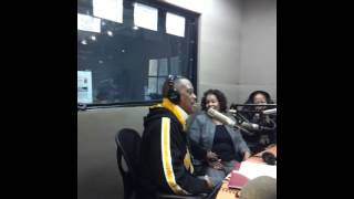 Interview with Cuba Gooding Sr on 10 10 AM radio 1