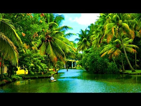 India Wallpaper 3d Hd Alleppey Backwaters Kerala India 2014 Youtube