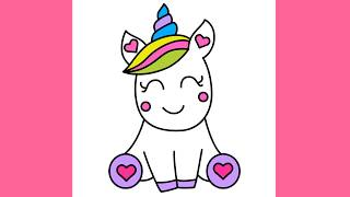 unicorn draw easy drawing super step simple sketch unicorns drawings kawaii cartoon face licorne dessin clipartmag 4u coloring painting sketches