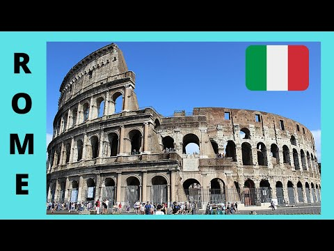 ROME: a tour of the magnificent COLOSSEUM with fantastic views (ITALY)