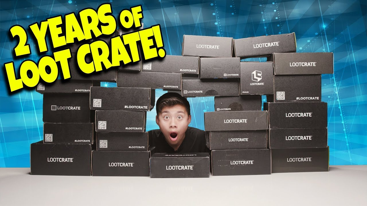 OPENING 2 YEARS WORTH OF LOOTCRATE BOXES!!! Found a Million $$$ Comic Book!