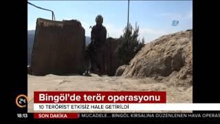 Bingöl'de terör operasyonu: 10 terörist etkisiz hale getirildi