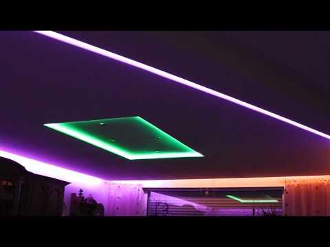 deckenlampe teilweise mit indirekter beleuchtung aus gk doovi. Black Bedroom Furniture Sets. Home Design Ideas