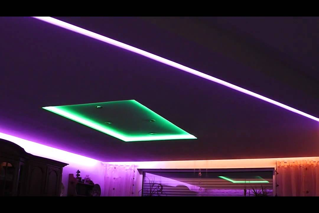 LED RGB Living Room - YouTube