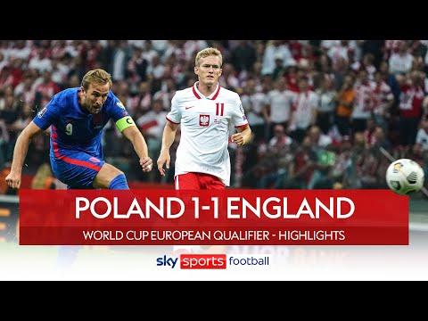 Kane wonder strike cancelled out LATE!   Poland 1-1 England   World Cup Qualifier Highlights